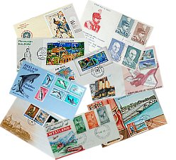 We buy first day covers